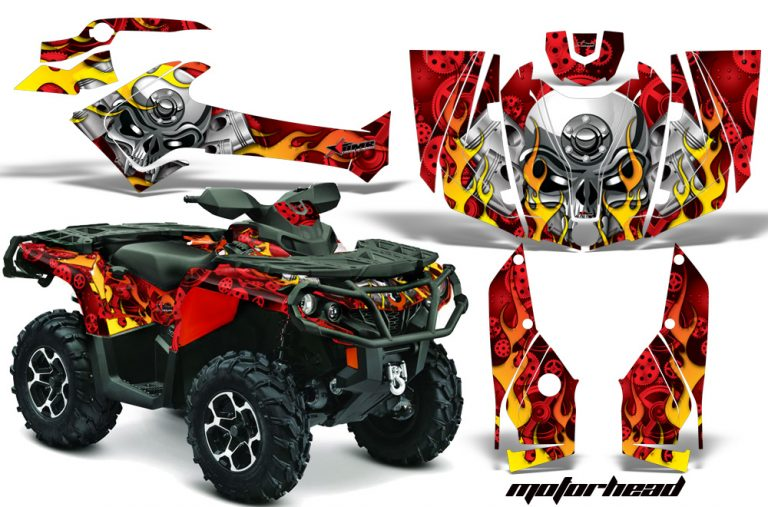 Can-Am Outlander 1000 2012 Graphics Kit R MH
