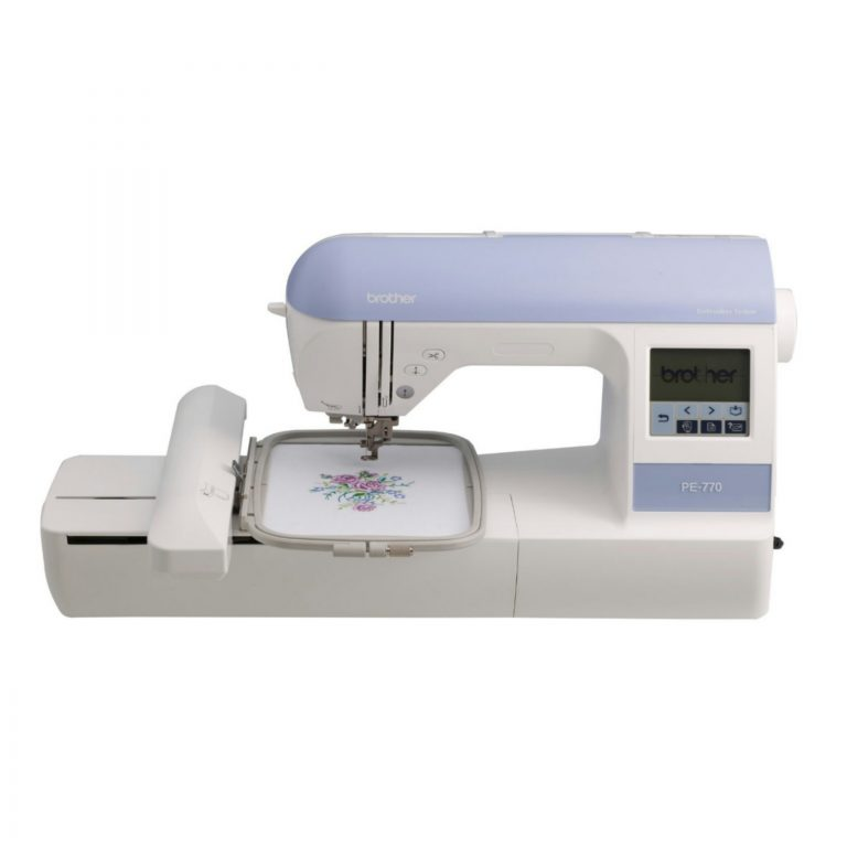 Brother-PE770-5x7-inch-Embroidery-only-machine